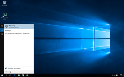 Windows 10 activering 1