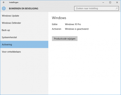 Windows 10 activering 2