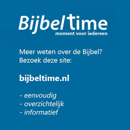 Bijbeltime - informatie over de Bijbel